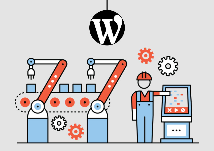 production de contenus sur wordpress
