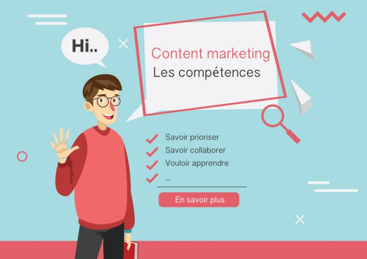 Compétences content marketing