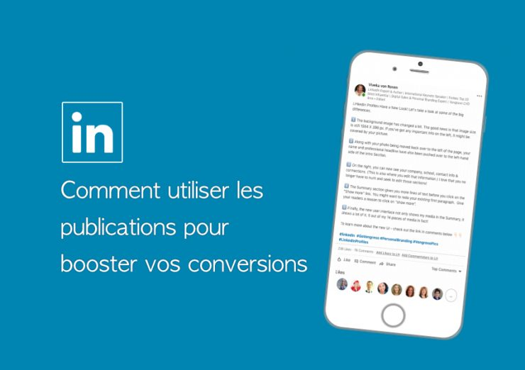 Booster conversions linkedin