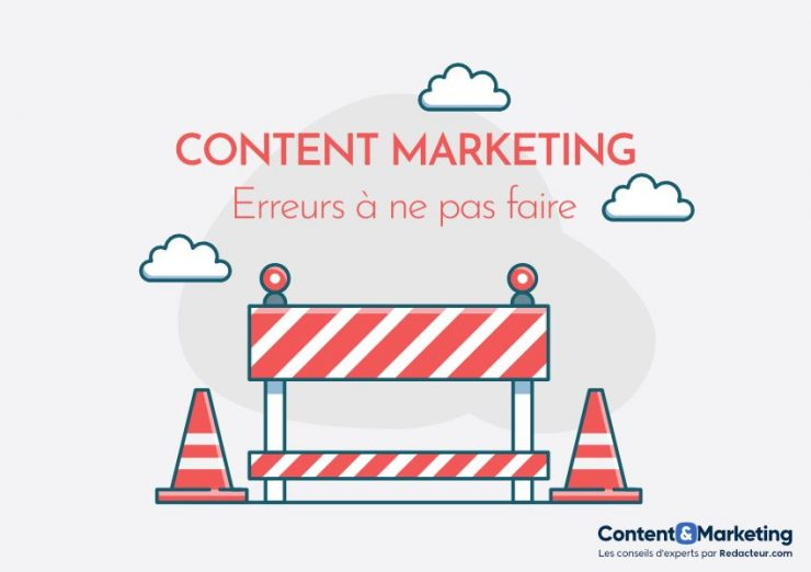 Erreurs de content marketing