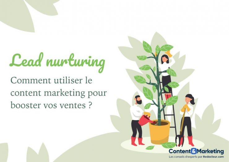 Lead nurturing et content marketing
