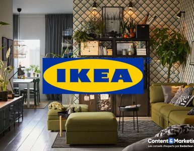 Content marketing Ikea