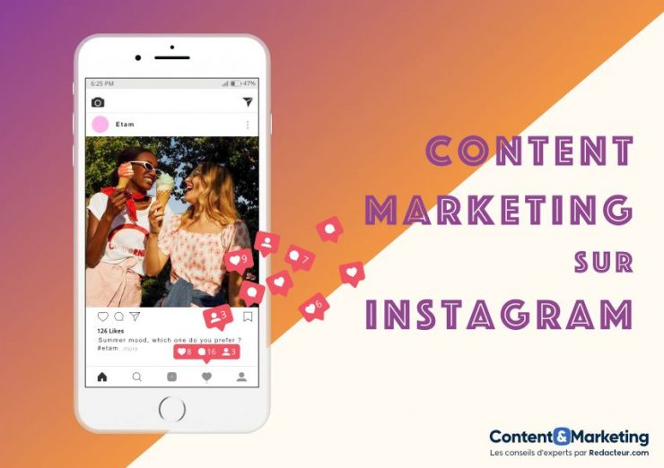 Content marketing Instagram