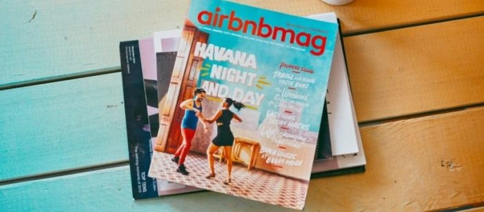 Exemple content marketing airbnbbmag
