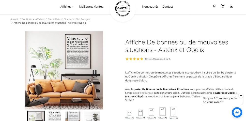 site e-commerce E-monsite